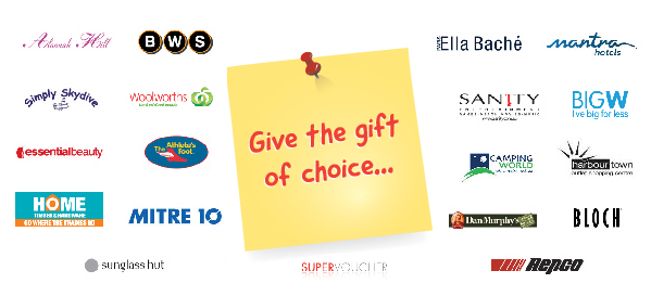 www.giftvouchers.com has a choice of over 80 retailers' gift cards, gift certificates and gift vouchers. Click on one now to make a purchase.